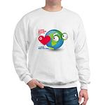 I Love Mother Earth. I love R Sweatshirt