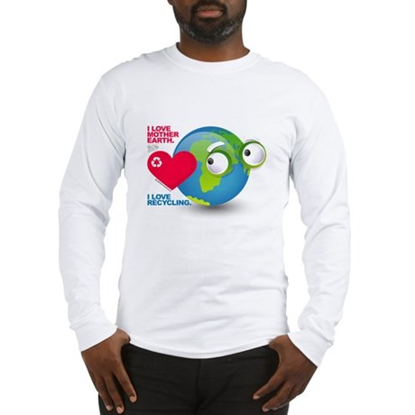 I Love Mother Earth. I love R Long Sleeve T-Shirt