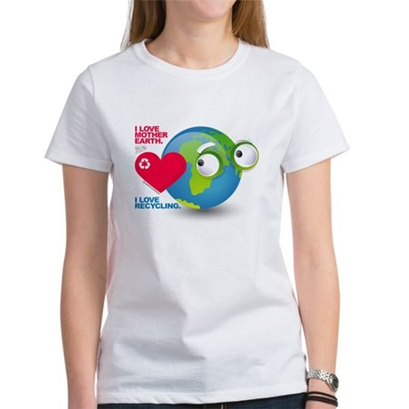 I Love Mother Earth. I love R Women's T-Shirt