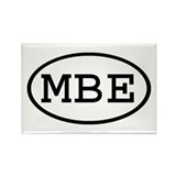MBE Oval Rectangle Magnet