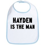 Hayden is the man Bib