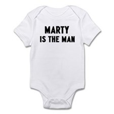 Marty is the man Infant Bodysuit