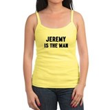 Jeremy is the man Ladies Top
