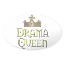 Drama Queen - Oval Decal