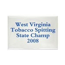 08 WVA Tob Spit Champ Rectangle Magnet (10 pack)