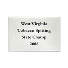08 WVA Tob Spit Champ Rectangle Magnet (100 pack)