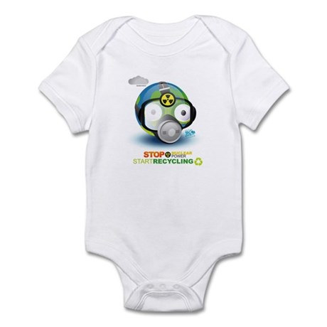 Stop Nuclear Energy. Recycle Infant Bodysuit