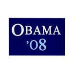 OBAMA'08 Rectangle Magnet (10 pack)