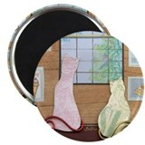 "Funky Inside Cats 2.25"" Magnet (100 pack)"