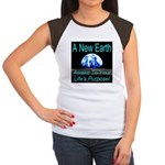 A New Earth Women's Cap Sleeve T-Shirt