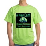 A New Earth Green T-Shirt
