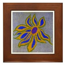 POP SIDEWALK CHALK ART Framed Tile