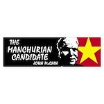 Manchurian McCain Bumper Sticker