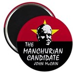 Manchurian McCain Magnet