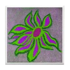 POP SIDEWALK CHALK ART Tile Coaster