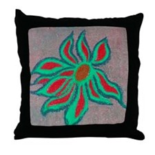POP SIDEWALK CHALK ART Throw Pillow