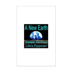 A New Earth Mini Poster Print