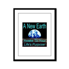 A New Earth Framed Panel Print