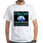 A New Earth White T-Shirt