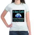 A New Earth Jr. Ringer T-Shirt