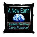 A New Earth Throw Pillow