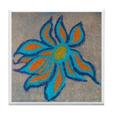 SIDEWALK POP CHALK Tile Coaster