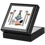 Masonic Brothers Keepsake Box
