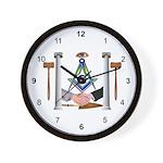 Masonic Fraternal Wall Clock