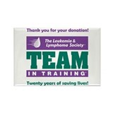 Team in Training Donation Magnet