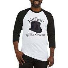 Top Hat Groom's Father Baseball Jersey