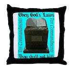 10 Commandments Throw Pillow