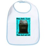 10 Commandments Bib