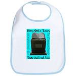 10 Commandments Bib