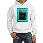 10 Commandments Hooded Sweatshirt