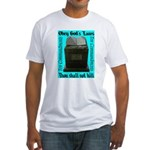 10 Commandments Fitted T-Shirt