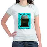10 Commandments Jr. Ringer T-Shirt