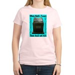 10 Commandments Women's Pink T-Shirt