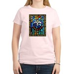 Peace Dove Women's Pink T-Shirt