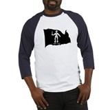 Black Bart Roberts Pirate Baseball Jersey