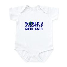 World's Greatest Mechanic Infant Bodysuit