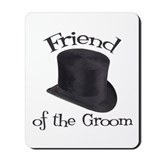 Top Hat Groom's Friend Mousepad