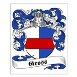 Gross Family Crest Small Poster