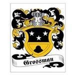 Grossman Family Crest Small Poster
