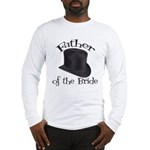 Top Hat Bride's Father Long Sleeve T-Shirt