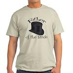 Top Hat Bride's Father Light T-Shirt
