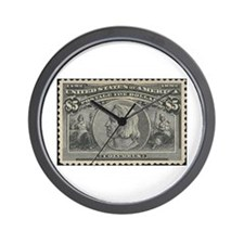 Cute Stamp Wall Clock