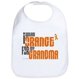 I Wear Orange For My Grandma 6 Bib