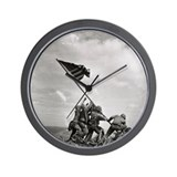 Iwo Jima Wall Clock