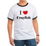 I Love Crayfish T