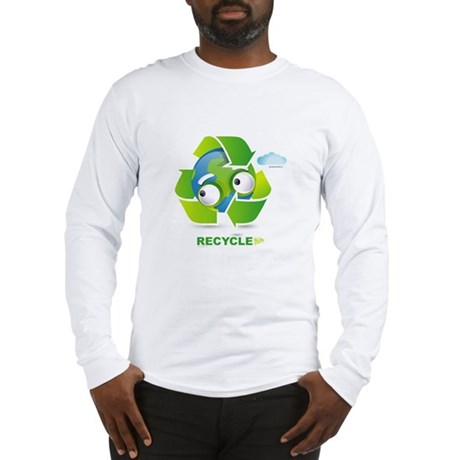 Recycle Long Sleeve T-Shirt